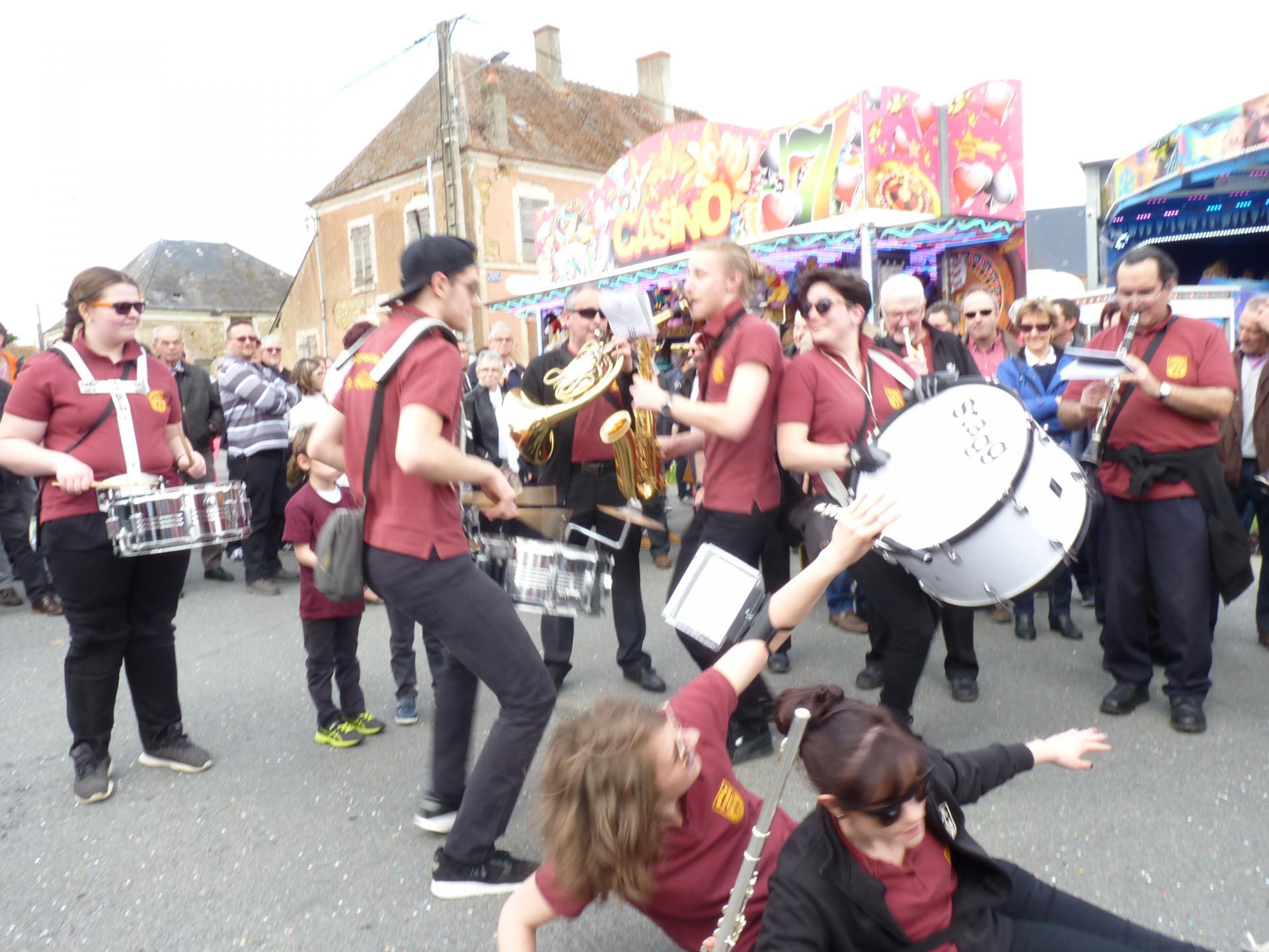Avril 2018 - Cavalcade Neuvy St Sépulchre
